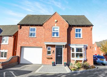Thumbnail 4 bed detached house for sale in Buckingham Drive, Church Gresley, Swadlincote