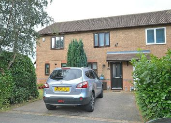 Thumbnail 2 bed terraced house for sale in Lindisfarne Way, East Hunsbury, Northampton