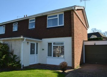 Thumbnail 3 bed semi-detached house for sale in Shelton Close, Tonbridge