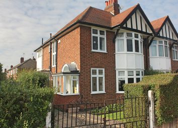 Thumbnail 3 bed semi-detached house for sale in Carisbrooke Road, South Knighton, Leicester