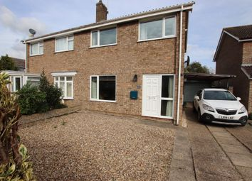 Thumbnail 3 bed semi-detached house for sale in Heron Close, Salhouse, Norwich