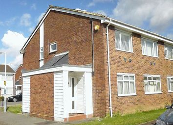 Thumbnail 2 bed maisonette to rent in Quantock Close, Harlington, Hayes