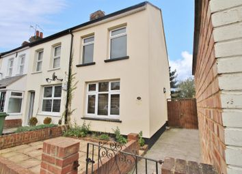 Thumbnail 2 bed end terrace house to rent in Harcourt Road, Bexleyheath