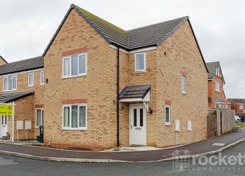 Thumbnail 3 bed detached house to rent in Greylag Gate, Newcastle-Under-Lyme