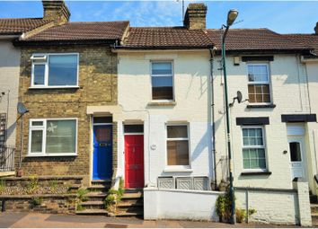 Thumbnail 2 bed terraced house for sale in Brompton Lane, Rochester