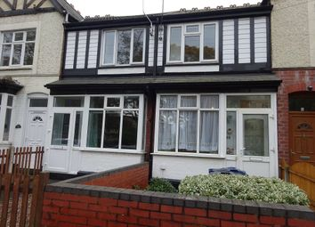 Thumbnail Terraced house for sale in St Margarets Road, Ward End, Birmingham