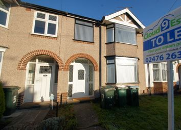 Thumbnail 1 bedroom terraced house to rent in Armstrong Avenue, Coventry