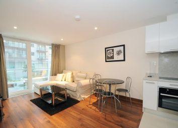 Thumbnail 1 bed flat to rent in Burnelli Building, Chelsea Bridge Wharf, London.
