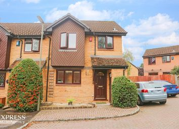 Thumbnail 2 bed semi-detached house for sale in Drayhorse Drive, Bagshot, Surrey