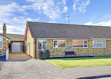 Thumbnail 3 bed semi-detached bungalow for sale in Rockingham Road, Sawtry, Huntingdon