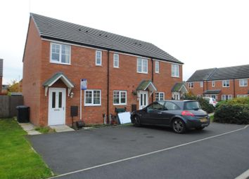 Thumbnail 2 bed end terrace house for sale in Glossop Close, Warrington