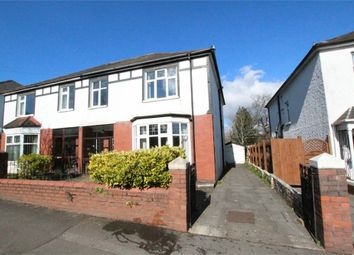 Thumbnail 4 bed semi-detached house for sale in Lake Road North, Roath Park, Cardiff