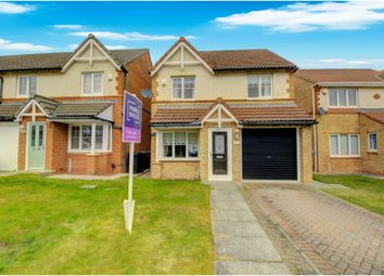 Thumbnail 3 bed detached house for sale in Goldfinch Road, Hartlepool