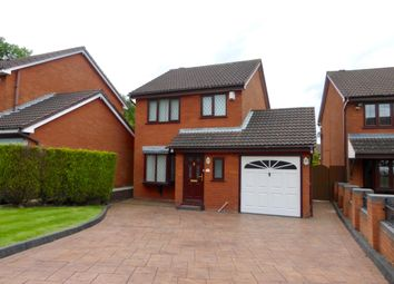 Thumbnail 3 bed detached house to rent in Gorsemoor Road, Heath Hayes, Cannock