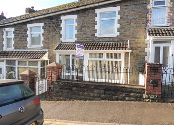 Thumbnail 2 bed terraced house for sale in Coronation Road, Evanstown, Porth