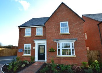 Thumbnail 4 bed detached house for sale in Rush Lane, Market Drayton