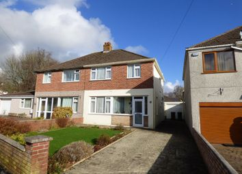 Thumbnail 3 bed semi-detached house for sale in Larkham Lane, Plympton, Plymouth