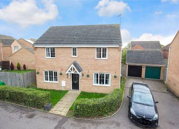 Thumbnail 4 bedroom detached house for sale in Ascot Close, Corby