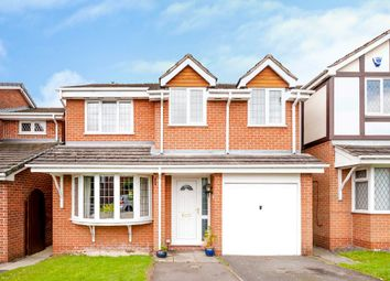 Thumbnail 4 bed detached house for sale in Diamond Drive, Oakwood, Derby