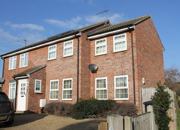 Thumbnail 2 bed semi-detached house for sale in Chapel Road, Wrentham, Beccles, Suffolk