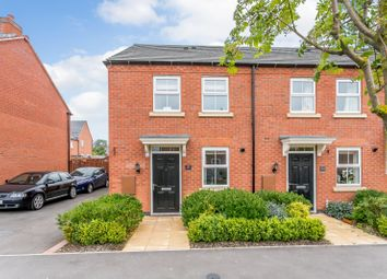 Thumbnail 2 bed end terrace house for sale in William Spencer Avenue, Sapcote, Leicester