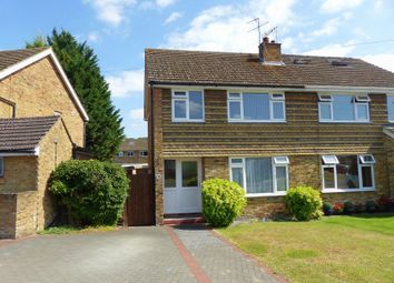 Thumbnail 3 bed semi-detached house for sale in Stratford Drive, Wooburn Green, High Wycombe