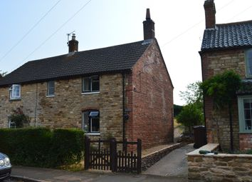 Thumbnail 2 bed cottage to rent in Middle Street, Croxton Kerrial, Grantham