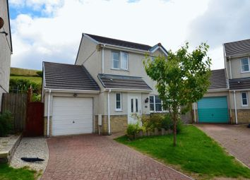 Thumbnail 3 bed detached house to rent in Hillside Meadows, Foxhole, St. Austell