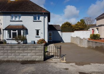 Thumbnail 3 bed semi-detached house for sale in Castle Road, Rhoose, Barry
