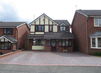 Thumbnail 4 bed detached house for sale in Slindon Close, Waterhayes, Newcastle