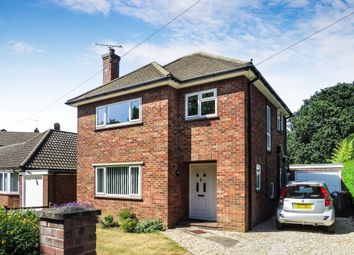 Thumbnail 3 bedroom detached house for sale in Mansel Drive, Old Catton, Norwich