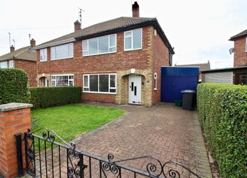 Thumbnail 3 bed semi-detached house for sale in St Davids Drive, Scawsby, Doncaster