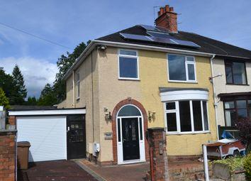 Thumbnail 3 bedroom semi-detached house for sale in Douglas Avenue, Penkhull, Stoke-On-Trent