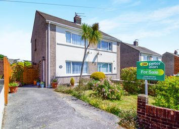 Thumbnail 2 bedroom semi-detached house for sale in Llangewydd Road, Bridgend