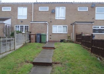 Thumbnail 3 bed terraced house to rent in Hillman Grove, Smiths Wood, North Solihull
