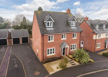 Thumbnail 5 bed detached house for sale in Moat Lane, Woore, Crewe, Shropshire