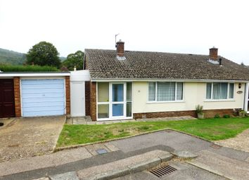 Thumbnail 2 bed semi-detached bungalow for sale in River Drive, River, Dover, Kent
