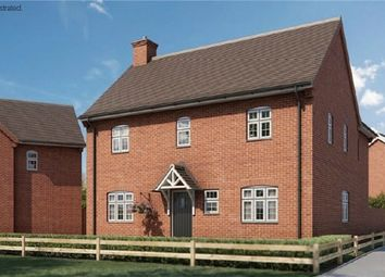 Thumbnail 4 bed detached house for sale in The Hawker At Chiswell Place, New Cardington, Bedfordshire