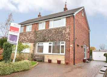 Thumbnail 3 bed semi-detached house for sale in Richmondfield Crescent, Barwick In Elmet, Leeds, West Yorkshire