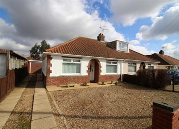Thumbnail 3 bedroom semi-detached bungalow for sale in Bush Road, Hellesdon, Norwich