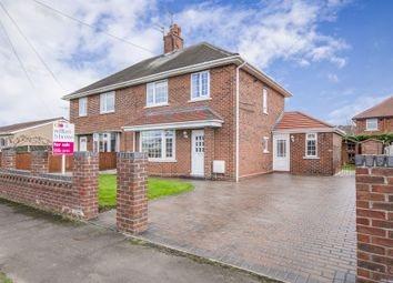 Thumbnail 3 bed semi-detached house for sale in Chestnut Avenue, Armthorpe, Doncaster