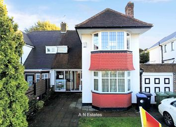 Thumbnail 3 bed detached house to rent in Woodhill Crescent, Kenton, Harrow