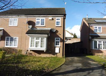 Thumbnail 3 bedroom semi-detached house for sale in Dorrington Close, Luton