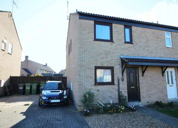 Thumbnail 3 bedroom semi-detached house to rent in Beaumaris Road, Sawtry, Huntingdon