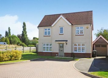 Thumbnail 4 bed detached house for sale in Lucas Rise, Cannock, Staffordshire