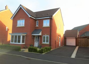 Thumbnail 4 bed detached house to rent in Yew Tree Meadow, Hadley, Telford