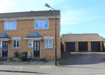 Thumbnail 2 bed semi-detached house for sale in Wyvern Close, Weston-Super-Mare