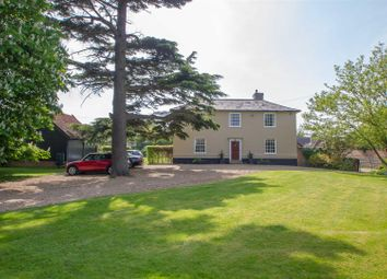 Thumbnail 5 bedroom detached house for sale in Hepworth Hall, The Street, Hepworth