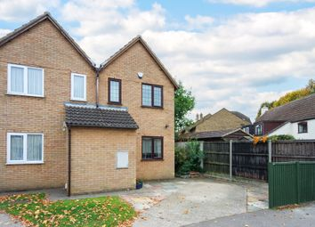 Thumbnail 2 bed semi-detached house to rent in Cheyney Street, Steeple Morden, Royston