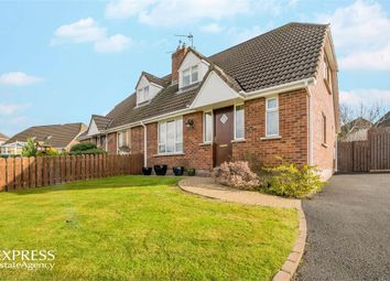 Thumbnail 3 bed semi-detached house for sale in Thornhill Crescent, Tandragee, Craigavon, County Armagh
